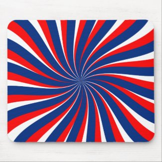 Spiral blue white red...