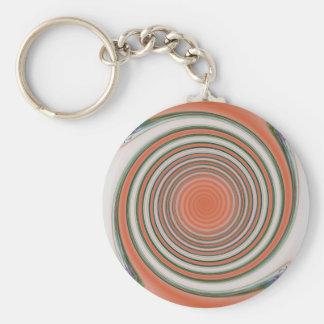 Spiral bound keychain