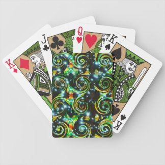 Spiral Bubbles Abstract Bicycle® Playing Card Bicycle Playing Cards