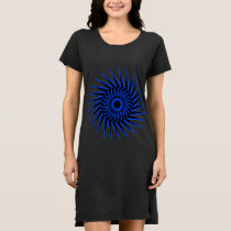 Spiral Burst1 Dress