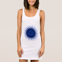 Spiral Burst1 Sleeveless Dress
