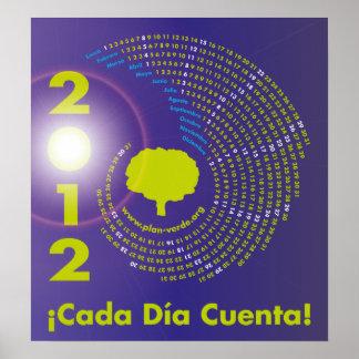 Spiral Calendario 2012 El árbol de la vida Posters