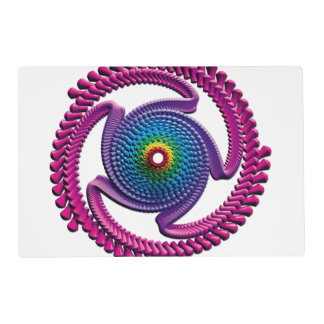 Spiral Candy 2 Placemat