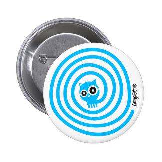 Spiral cat buttons