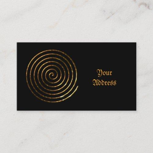 Spiral Celtic symbol