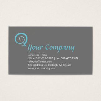 Spiral Chat Business Card