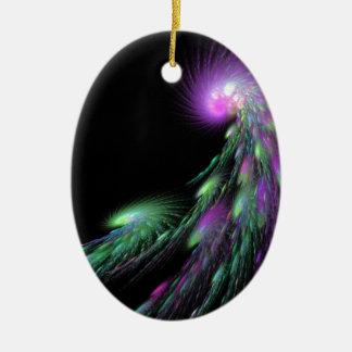 Spiral Comet Ceramic Ornament