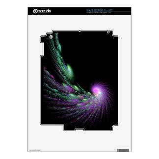 Spiral Comet iPad 2 Decals