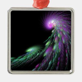 Spiral Comet Metal Ornament
