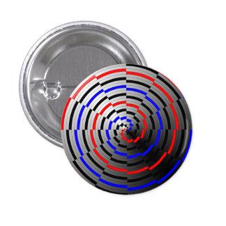Spiral Cone by Kenneth Yoncich Pinback Button