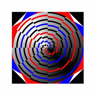 Spiral Cone Statuette