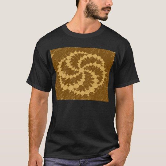 Spiral crop circle T-Shirt