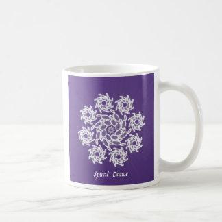 Spiral Dance Classic White Coffee Mug