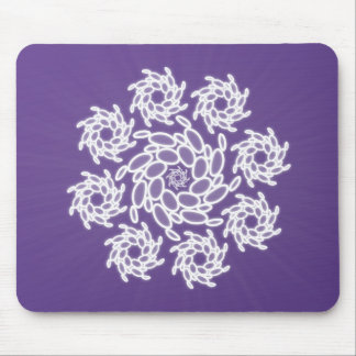 Spiral Dance Mouse Pad