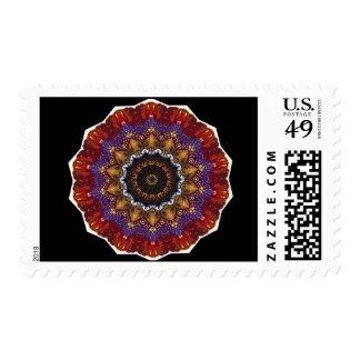 Spiral Dance Postage Stamp