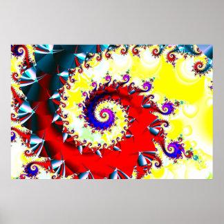 spiral dance poster
