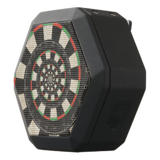 Spiral Dart Board Droste Boombot REX Speakers