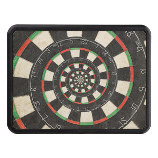 Spiral Dart Board Droste Hitch Cover