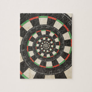 Spiral Dart Board Droste Puzzle