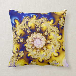 Spiral Design Throw Pillows