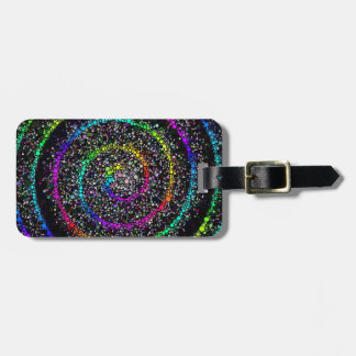 Spiral Dots Tag For Bags