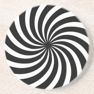 Spiral Effect Drink Coaster