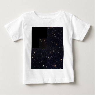 Spiral, Elliptical and Colliding Galaxies in the H Baby T-Shirt