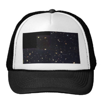 Spiral, Elliptical and Colliding Galaxies in the H Mesh Hats