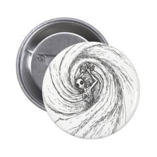 Spiral Encompassing 2 Inch Round Button