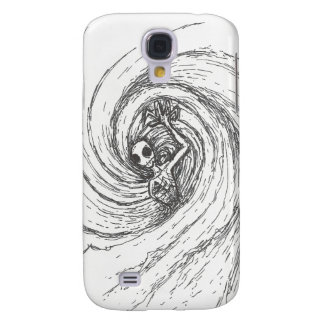 Spiral Encompassing Galaxy S4 Case