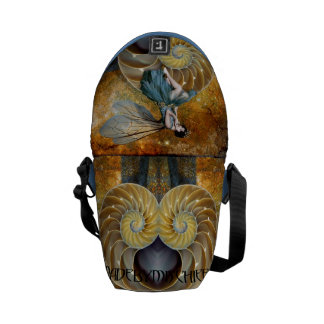 Spiral Fairy Throne messenger bag