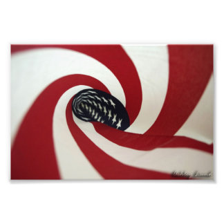 Spiral Flag Photo Art