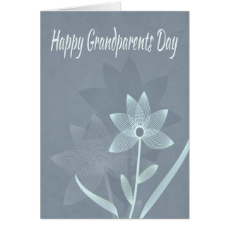 Spiral Flower w/ Reflections for Grandparents Day Card