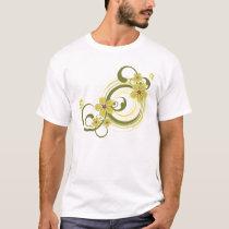 Spiral Flowers T-Shirt