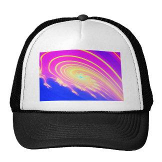 Spiral Flowers Trucker Hat