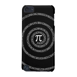 Spiral for Pi Digits on Black iPod Touch 5G Case
