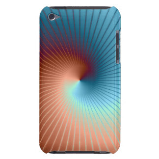 Spiral Fractal Case-Mate iPod Touch Covers