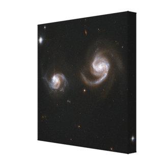 Spiral Galaxies Canvas Print