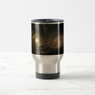 Spiral Galaxies NGC 2207 and IC 2163 Travel Mug