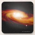 Spiral Galaxy 3 Drink Coaster