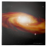Spiral Galaxy 3 Large Square Tile