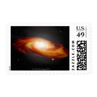 Spiral Galaxy 3 Postage