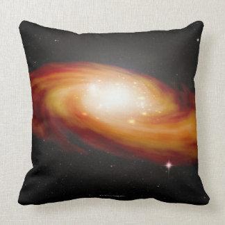 Spiral Galaxy 3 Throw Pillow