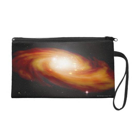 Spiral Galaxy 3 Wristlet Clutch