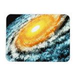 Spiral Galaxy 4 Flexible Magnets