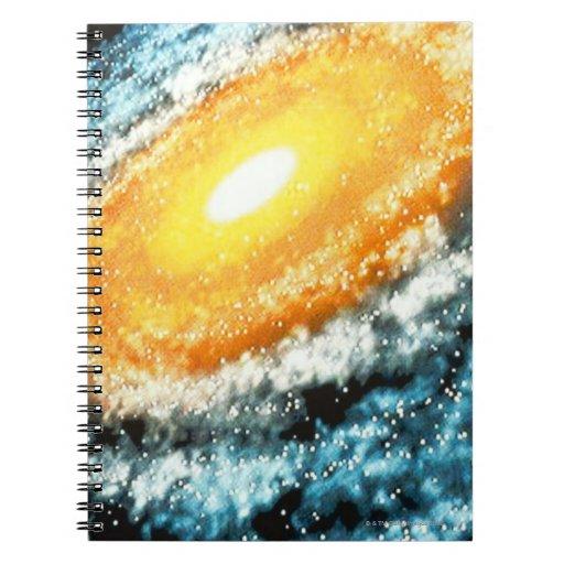 Spiral Galaxy 4 Journals