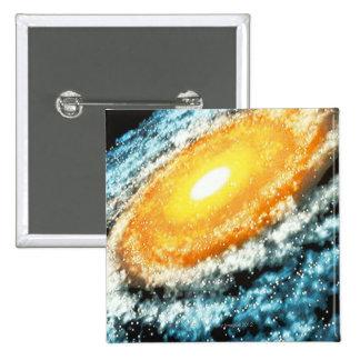 Spiral Galaxy 4 Pinback Button