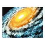 Spiral Galaxy 4 Post Card