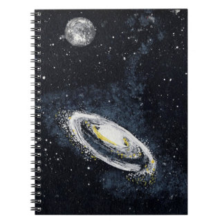 SPIRAL GALAXY (an outer space design) ~ Notebook