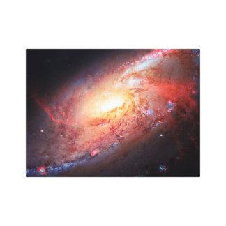 Spiral Galaxy Andromeda Milky Way Universe Stars Canvas Print